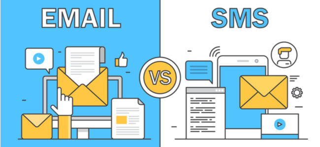 Email Vs SMS Marketing